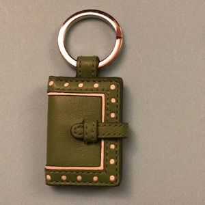 Coach key fob picture holder